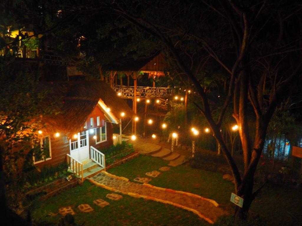 Suasana Malam Joglo pari sewu Camping ground